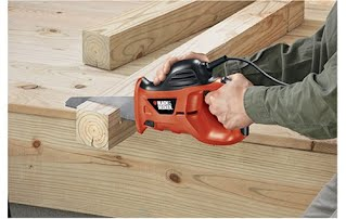using a power saw